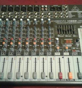 Mixer Behringer 1222usb