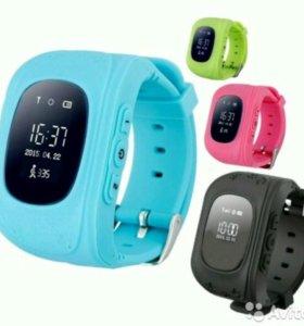 Smart Baby Watch Q50 часы GPS трекер детские умные