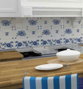 Плитка керамическая.Deep Blue Декор Узор