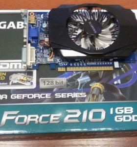 Видеокарта Nvidia GeForce 210