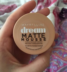 MAYBELLINE ТОНАЛЬНАЯ ОСНОВА DREAM MATTE MOUSSE