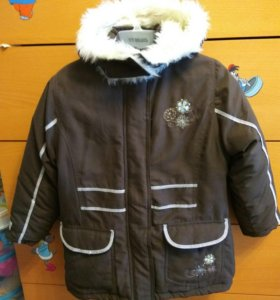 Куртка для девочки на рост 116см