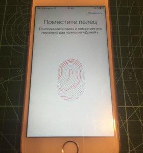 iPhone 6s 16 G розовый