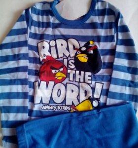 Пижама для мальчика птицы новая