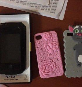 Чехлы на 4/4s iPhone