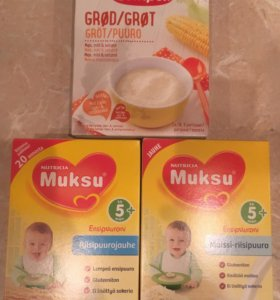 Молочные каши из Финляндии