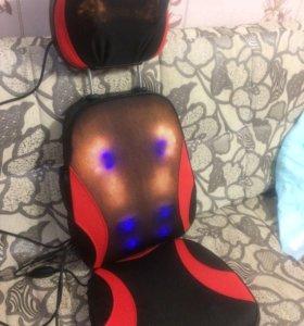 Массажное кресло массажная накидка подарок ортопед