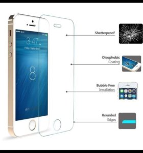 Защитные стекла на iPone 5, 5s
