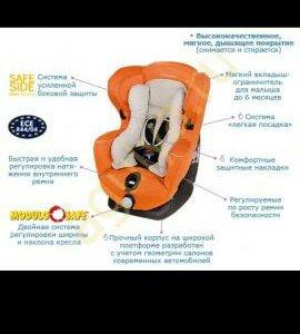 Автокресло Bebе Confort (0-18 кг)