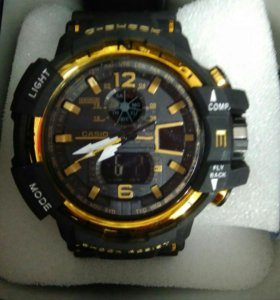 Мужские часы Casio G-shock Mudmaster Gold