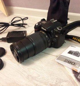 Nikon D90 + объектив 18-105