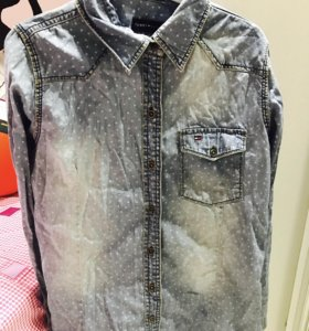 Джинсовая женская рубашка Tommy Hilfiger