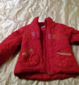 Куртка детская на 4-6 лет