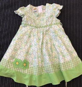 Платье новое 3-4 года