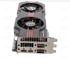 Игровая видеокарта GTX 580