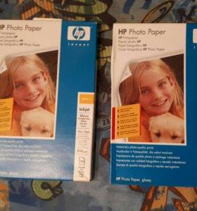 Фотобумага HP Glossy Photo Paper