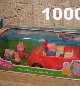 Свинка пеппа, пикник-кар