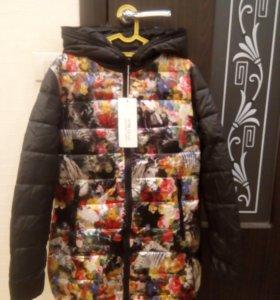 Новая куртка. весна