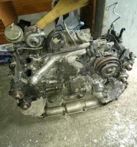 Двигатель Subaru legacy 206 TT 2001г. По запчастям