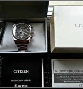 Абсолютно новые часы (в плёнках) CITIZEN BL8130-59