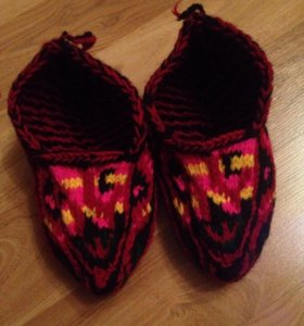 Шерстяные носочки