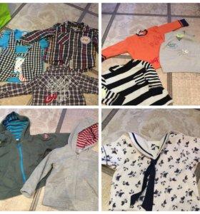 Толстовки, рубашки, кофты, полувер, свитер
