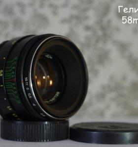 Гелиос-44-2 (58mm F2.0) в идеальном состоянии
