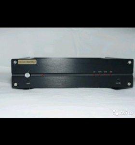 Цифро-аналоговый преобразователь TDA1543 x 16