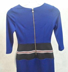 Платье синее (Италия)