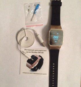 Умные часы ew100 (d99) для пожилых Оригинал Wonlex
