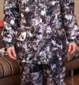 Новый зимний теплый костюм р.40-42