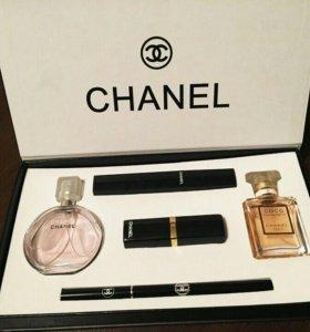 Набор Chanel 5in1 + бонус 🆓