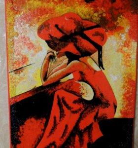 Картина акриловыми красками