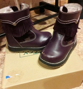 Ботинки деми Антилопа 24 размер