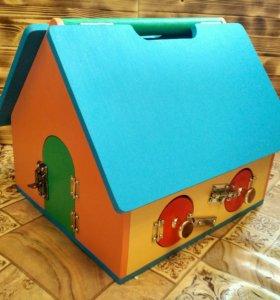 Кукольный домик ручной работы (бизидомик)