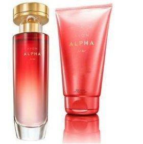 Парфюмерный набор Avon Alpha
