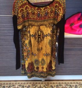 Платье -туника для беременных