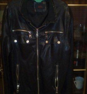 Кожанная куртка Zolla