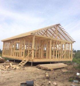 """Строительство домов из дерева """"под ключ"""""""