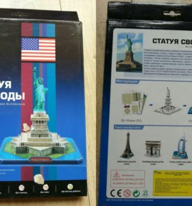 "Объемный пазл ""Статуя свободы"""