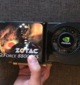 Видеокарта GeForce 8800 GTS 512 Mb DDR3