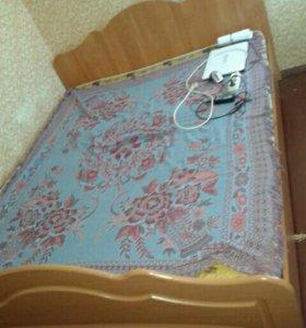2х кровать с матрасом
