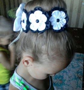 Украшения для волос ,галстучки