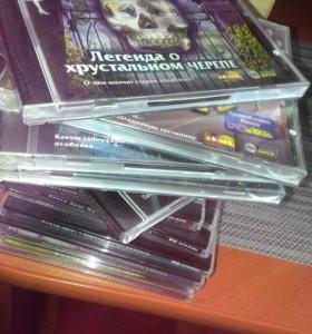 Продаю 13 дисков с играми Ненси Дрю
