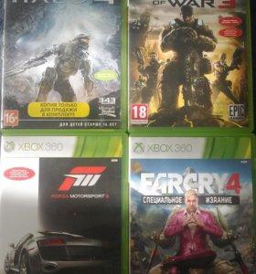 FarCry 4,Halo 4,Gears of War 3,Forza Motorsport 3