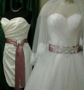 Выпускные свадебные платья 👗на заказ