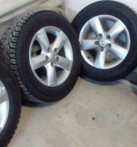 Комплект колёс с резиной