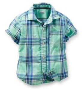 Новая рубашка Carter's 4t