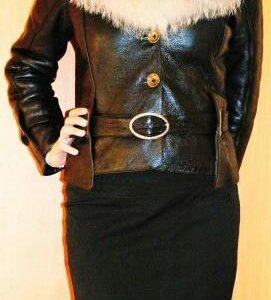 Куртка натуральная кожа-лак. (р. 46-48)