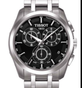 Tissot Couturier Chronograph на гарантии